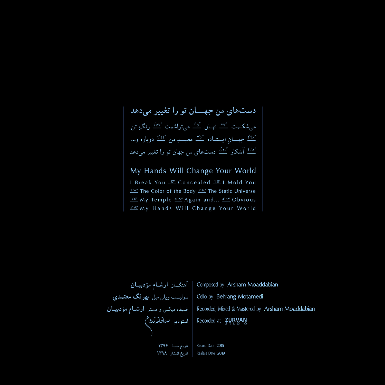 My Hands... - 02 - Credits & Tracklist